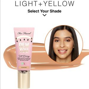 Too Faced Dew You Full-Coverage Glow Foundation